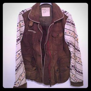 Anthropologie follow your heart Cargo jacket